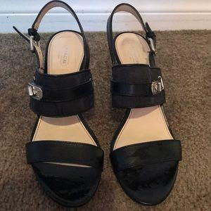 Coach Size 10 Sandals